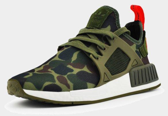 Adidas NMD XR1 Camo камуфляжные