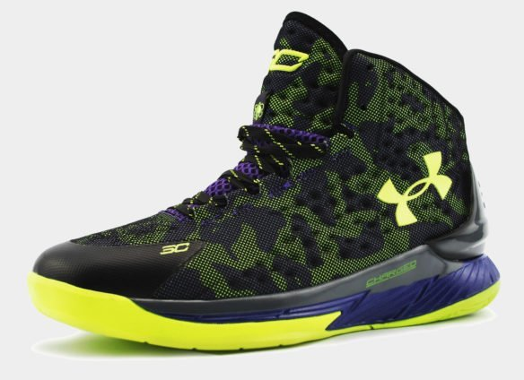 Under Armour Curry One camo 1